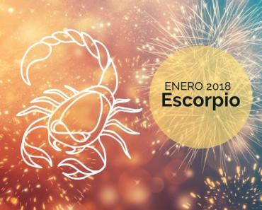 Horóscopo Escorpio Enero 2018