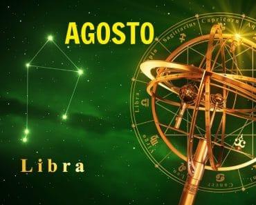 Horóscopo Libra Agosto 2021