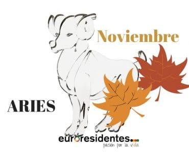 Horóscopo Aries Noviembre 2020