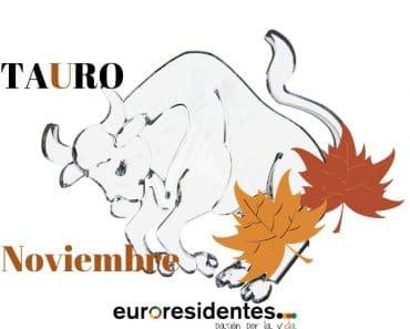Horóscopo Tauro Noviembre 2018