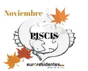 Horóscopo Piscis Noviembre 2021