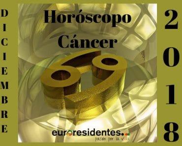 Horóscopo Cáncer Diciembre 2018