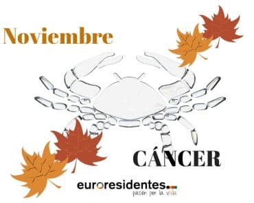 Horóscopo Cáncer Noviembre 2018