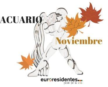 Horóscopo Acuario Noviembre 2018