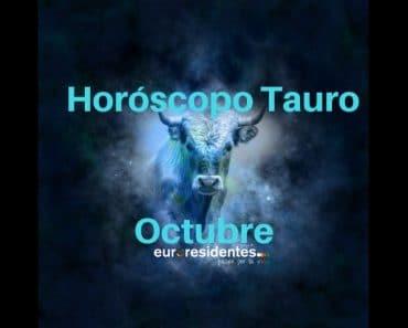 Horóscopo Tauro Octubre 2019