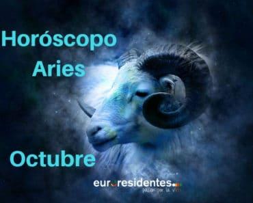 Horóscopo Aries Octubre 2020