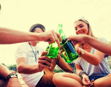 información para adolescentes sobre el alcohol