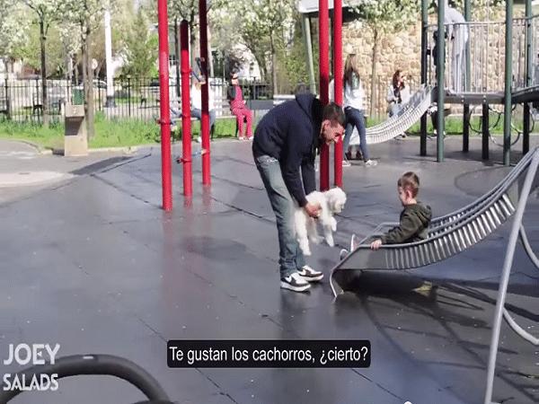 Así es como los niños reaccionan cuando un extraño intenta raptarlos