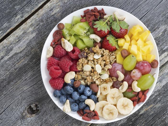 dieta energética color alimentos
