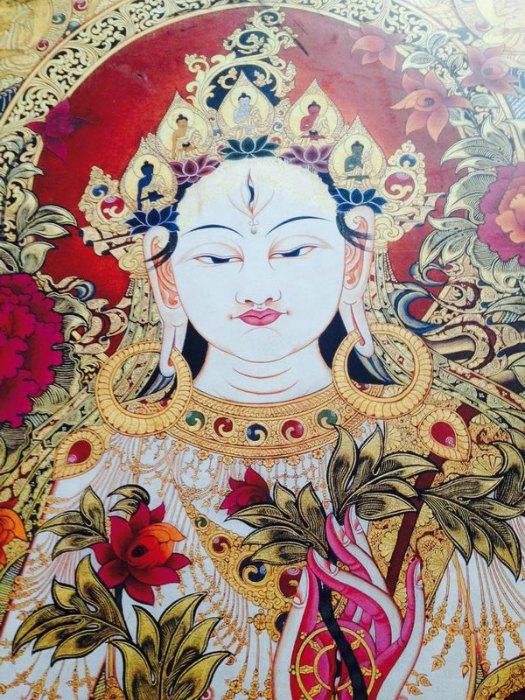 Mantra a una diosa indú