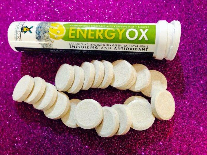 Vitaminas antioxidantes Energyox