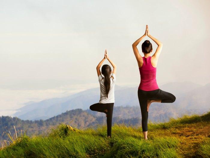 Hacer Yoga en plena naturaleza