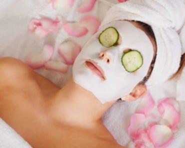 Mascarilla facial y relax