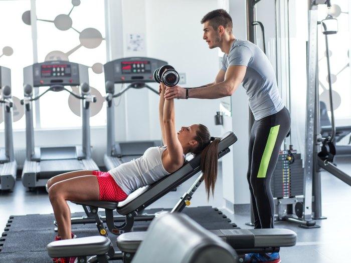 Gym: entrenador personal