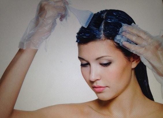 Teñirse el cabello en casa