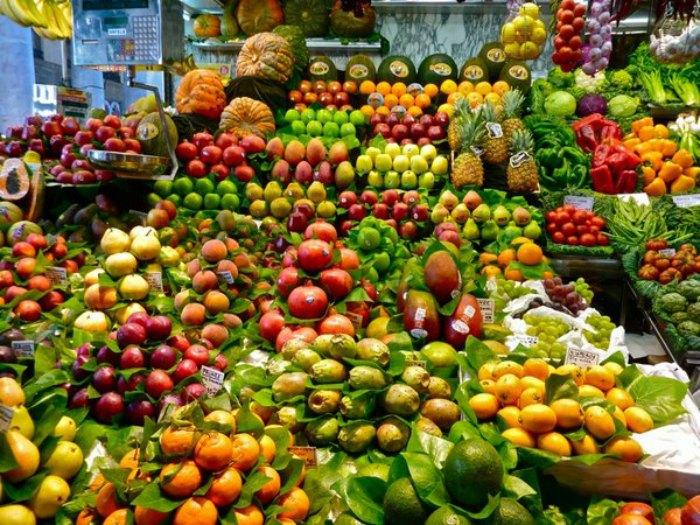 Alimentación sana: frutas y verduras