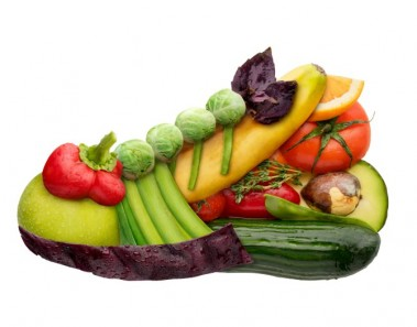 Frutas y verduras naturales