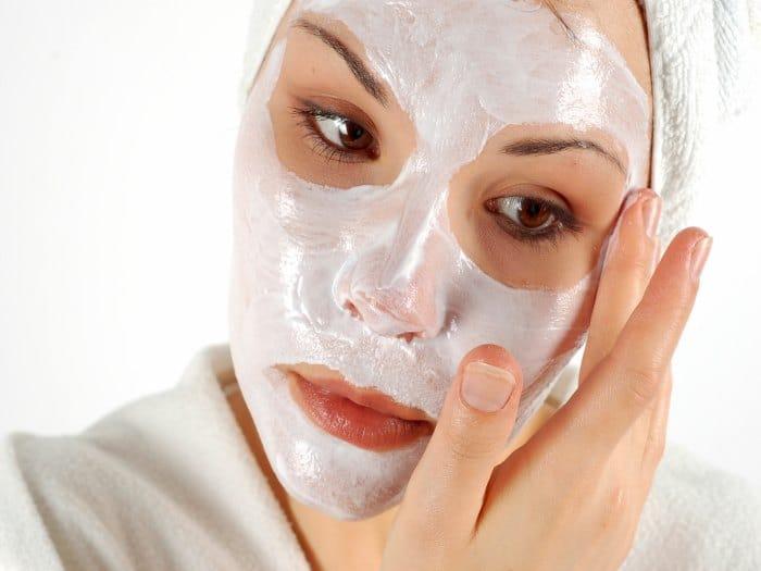 Mascarilla facial cremosa, para pieles saturadas