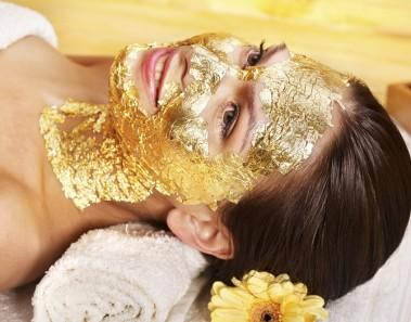 Mascarilla Facial con micropartículas de oro