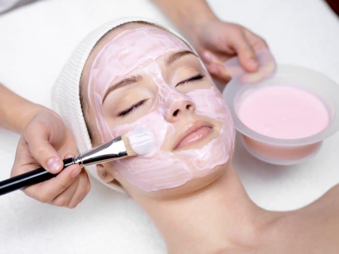 Mascarillas faciales reafirmantes pieles compactas