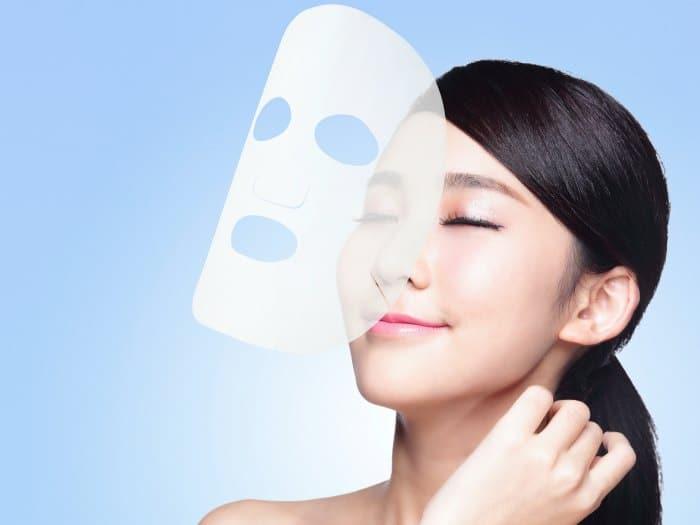 Mascarilla facial: velo de colágeno Deja una piel luminosa y nutrida