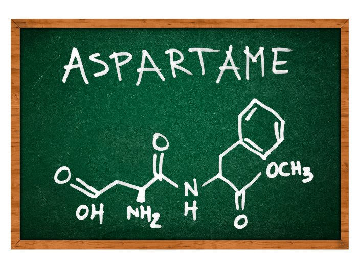 Aspartamo edulcorante artificial