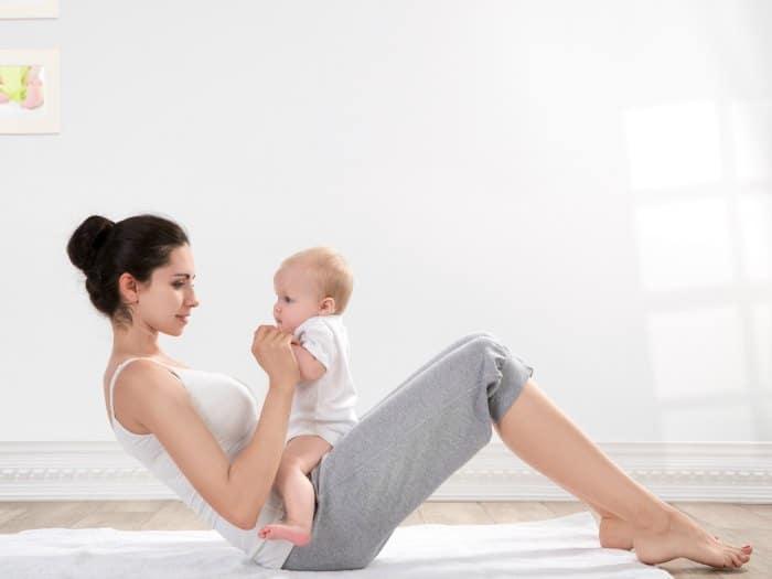 Músculos abdominales rotos por el embarazo