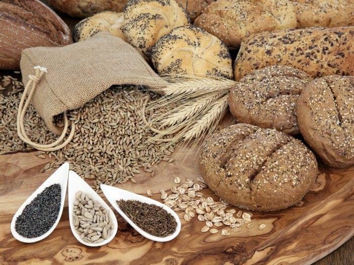 Los cereales y el pan integral son más flatulentos