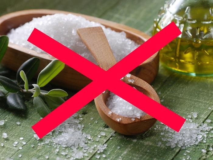 Retención de líquidos: prohibida la sal