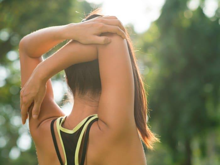 Ejercicio y Diadermocontracción para los brazos