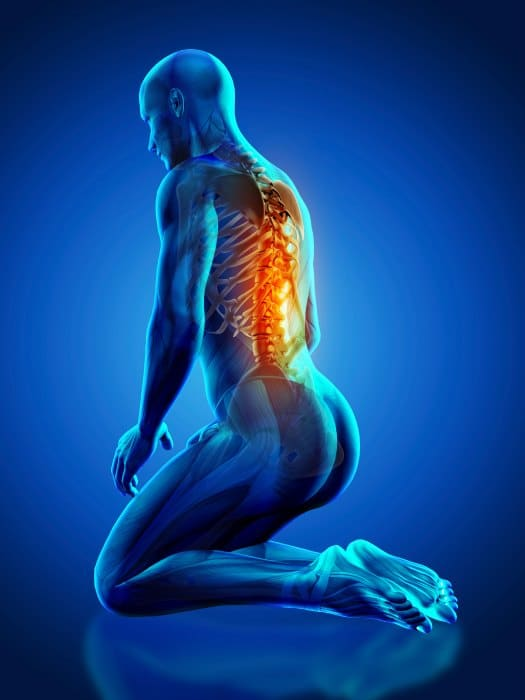 El dolor de espalda está relacionado con las emociones
