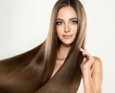 Alisar el cabello con Leche