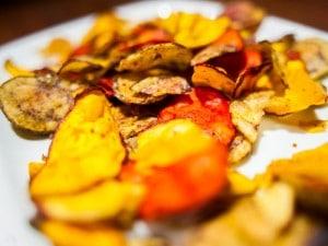 ¿Son saludables los chips de verduras?