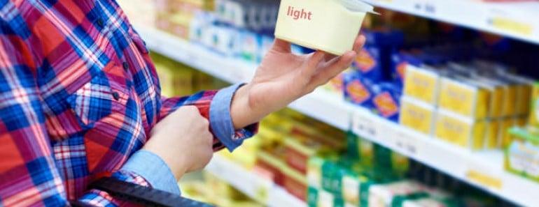 Productos light tienen más calorías