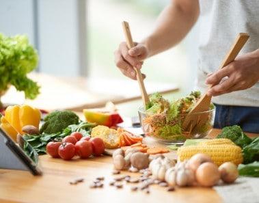 Relación salud y alimentación