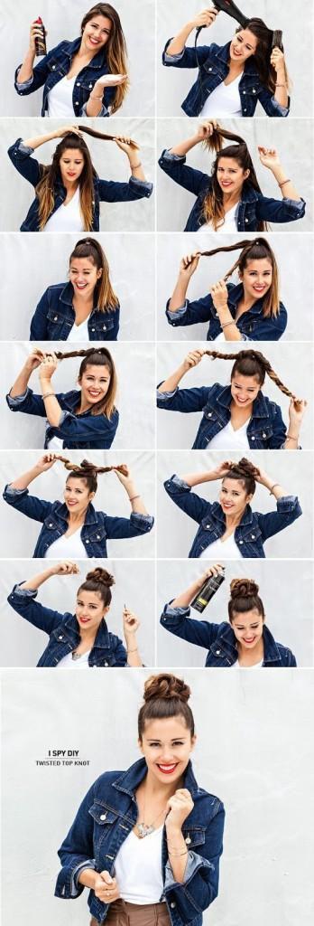 peinado fácil y rapido