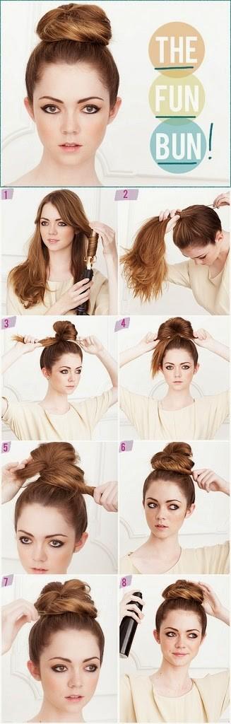 Peinados Faciles Paso A Paso Para Cada Dia De La Semana Moda Y Estilo