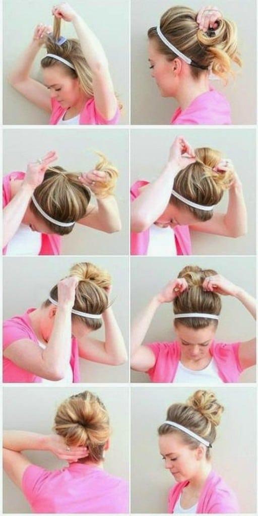 Peinados f ciles paso a paso para cada d a de la semana for Recogidos bonitos y sencillos