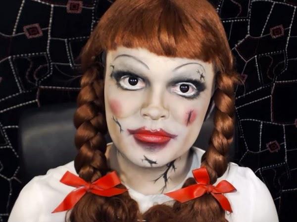 caras pintadas para halloween de terror