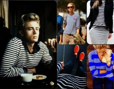 30 formas de llevar un jersey a rayas