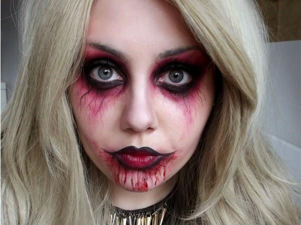 Maquillajes de Halloween para mujer Moda y estilo
