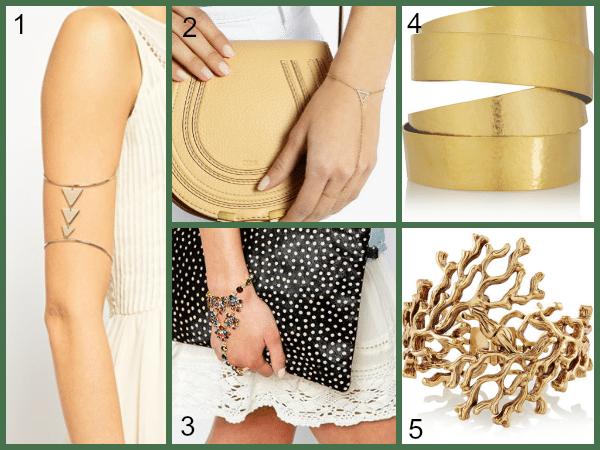accesorios para fiestas: pulseras y brazaletes