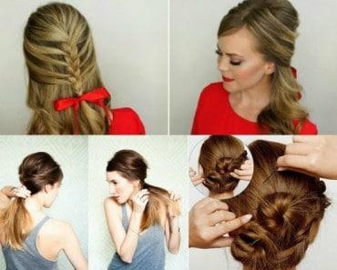 10 recogidos para el pelo que puedes hacer tu misma