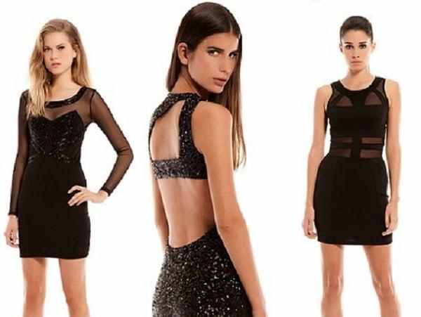 fc92456be 10- Otro estilo de vestidos cortos de noche para gente joven y de otros  colores