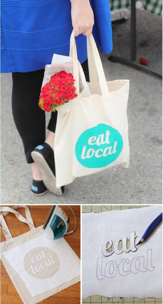 diy: pintar bolsos de lona (tote bag)