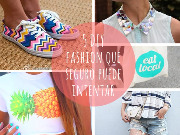 DIY fashion fácil