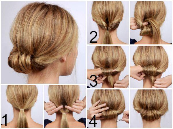 Como hacer peinados faciles para el trabajo