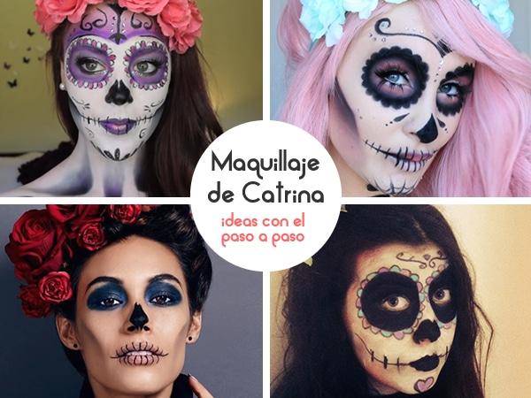 maquillaje catrina o calavera mexicana