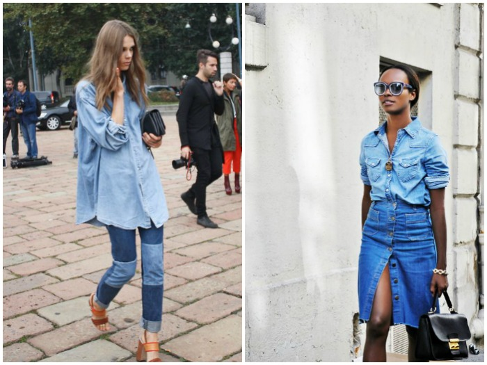 Opta por un total look denim
