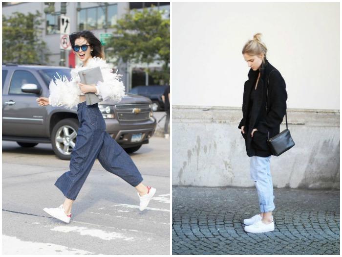 Look : sneakers + jeans